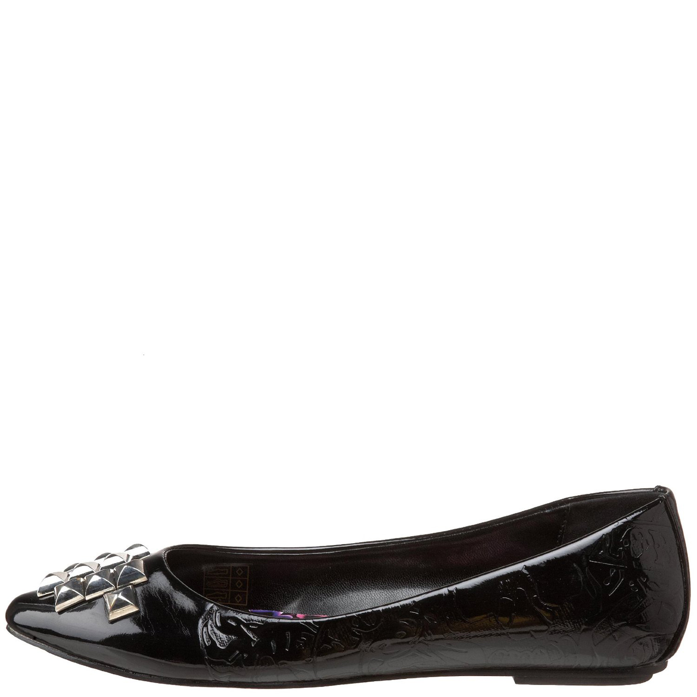 Ed Hardy Caracas Flat Shoe for Women - Black