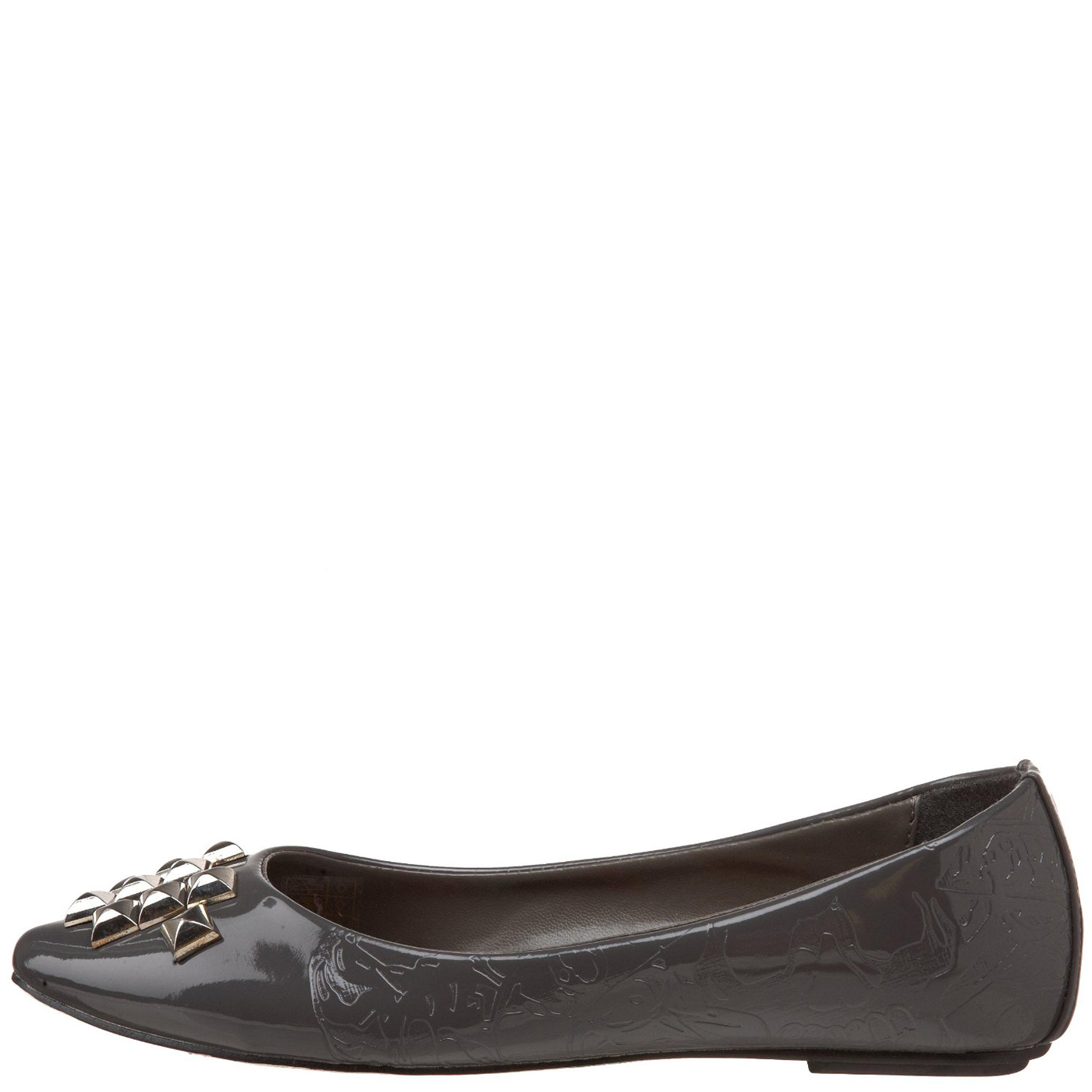 Ed Hardy Caracas Flat Shoe for Women - Grey
