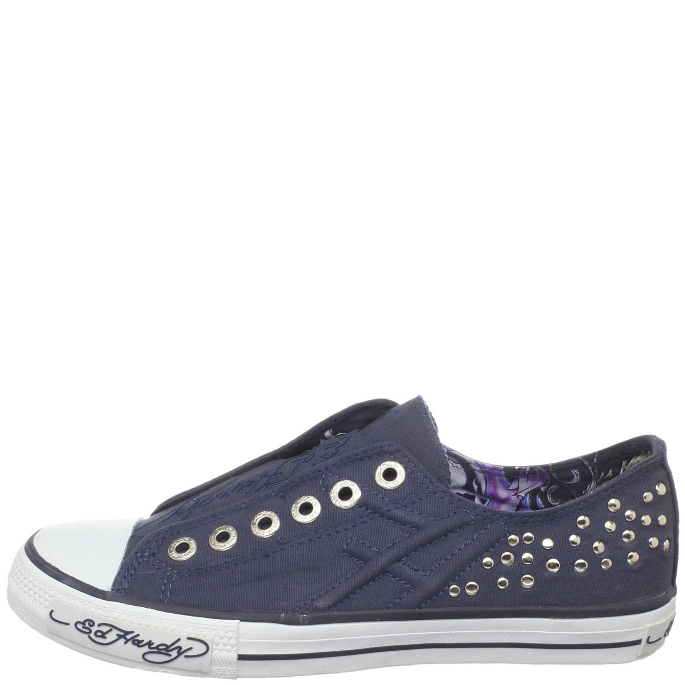 Ed Hardy Dakota Shoe for Women - Navy