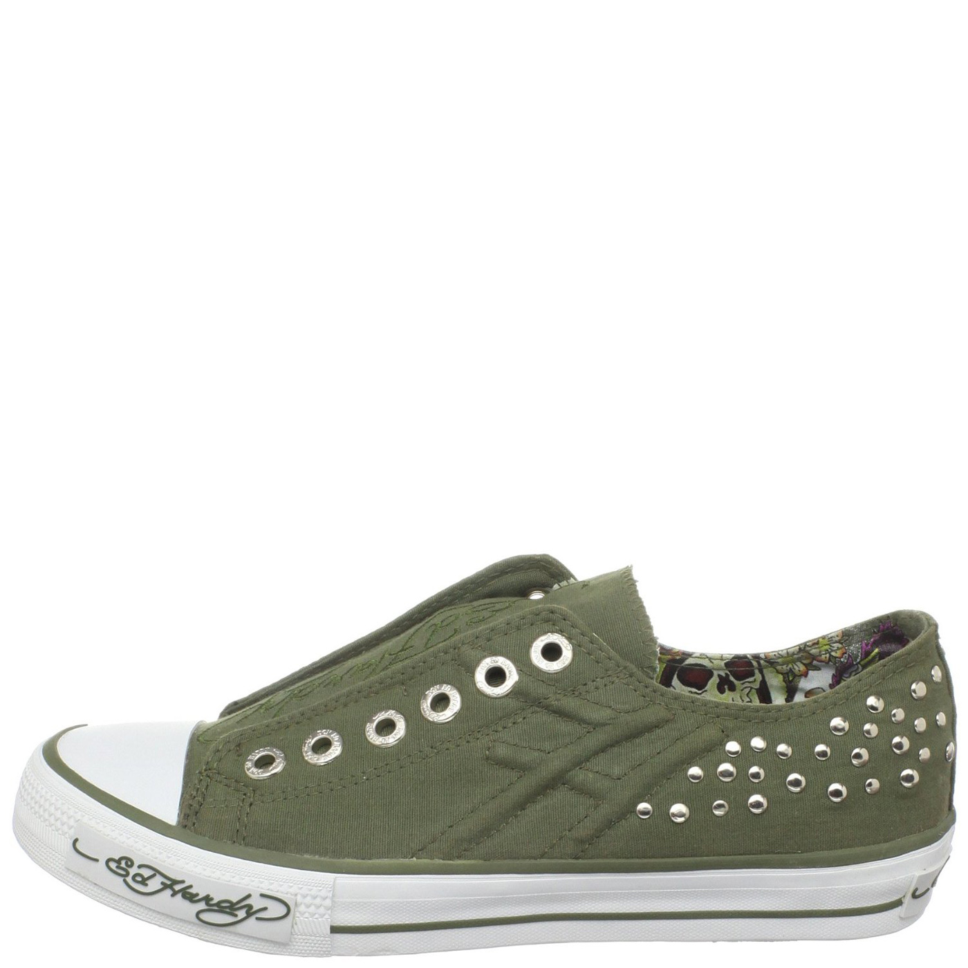 Ed Hardy Dakota Shoe for Women - Military