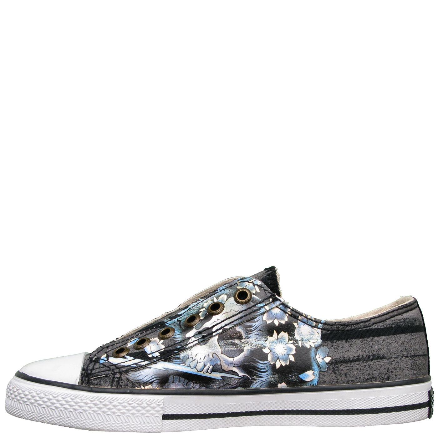 Ed Hardy Lowrise Serrano Shoe for Women - Black