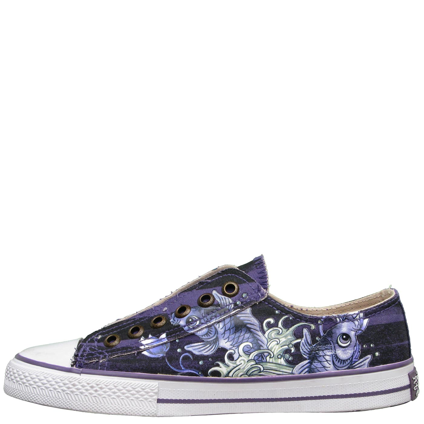 Ed Hardy Lowrise Serrano Shoe for Women - Purple