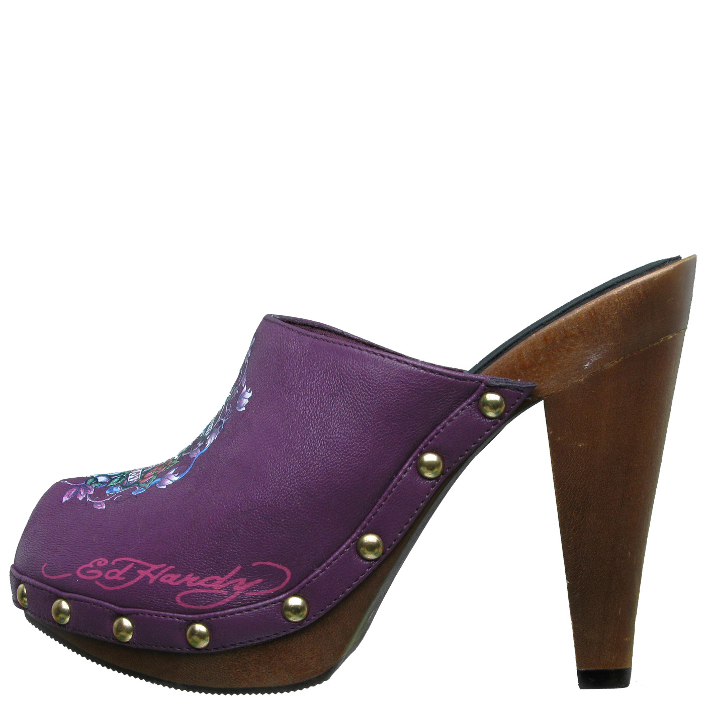 Ed Hardy Portland Pump Shoe for Women - Purple