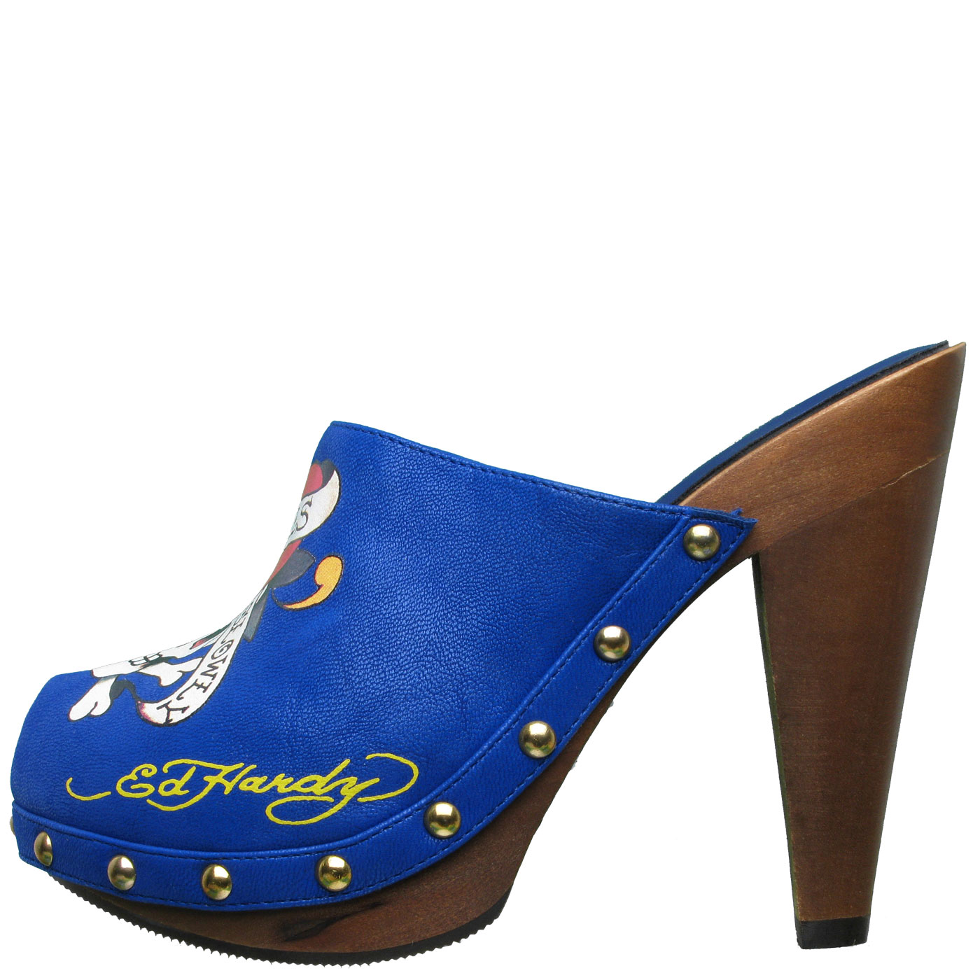 Ed Hardy Portland Pump Shoe for Women - Blue