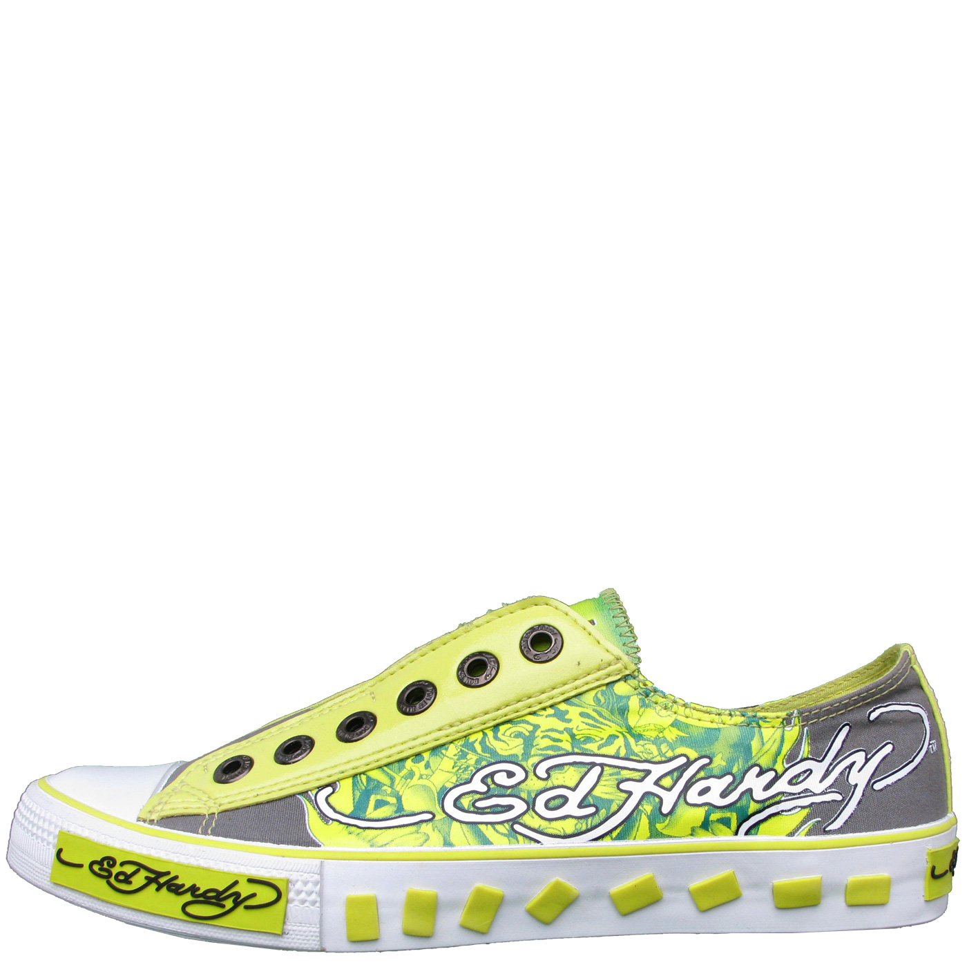 Ed Hardy Lowrise Van Nuys Shoe for Kids - Green