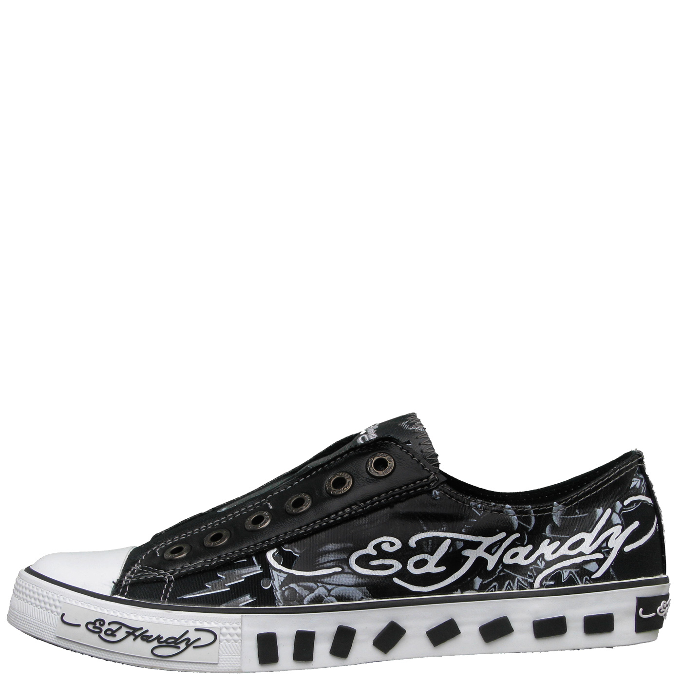 Ed Hardy Lowrise Van Nuys Shoe for Women - Black