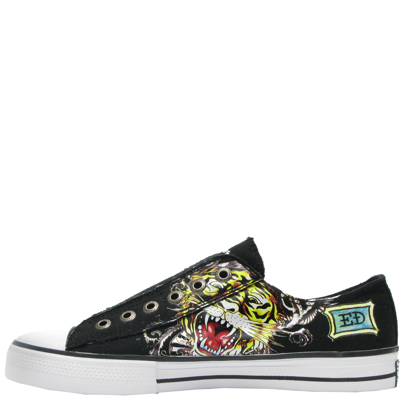 Ed Hardy Lowrise Bangkok Shoe for Women - Black