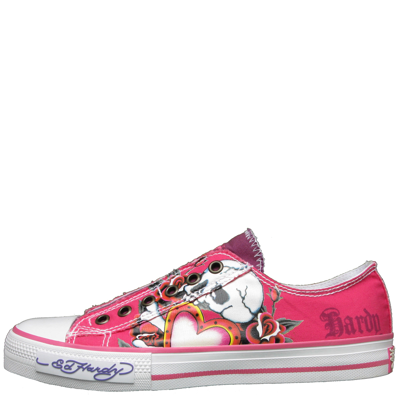 Ed Hardy Lowrise 100 Shoe for Women - Fuschia