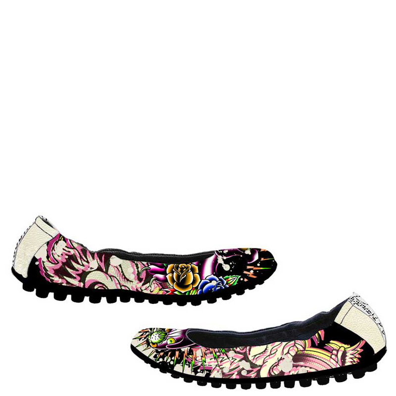 Ed Hardy Sao Paulo Shoe for Women - Off White