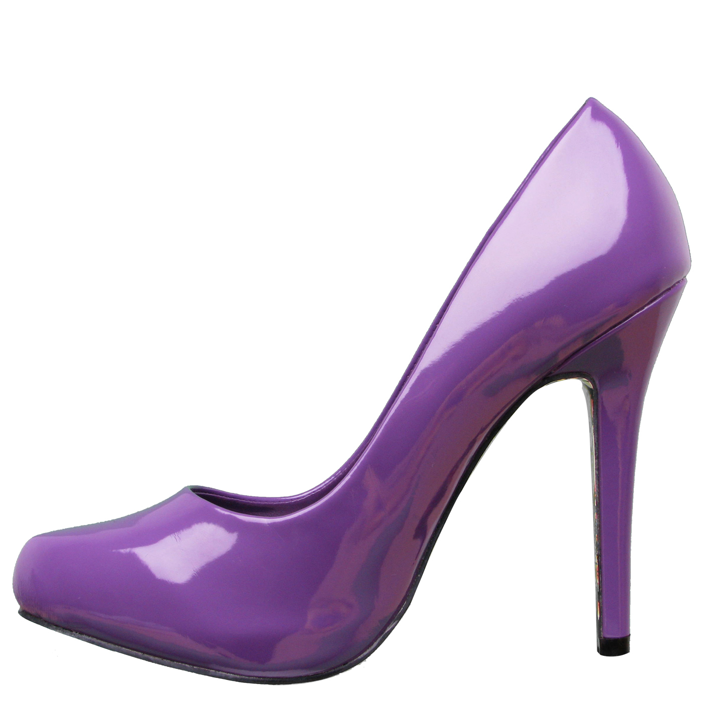 Ed Hardy Womens West LA Pumps - Purple