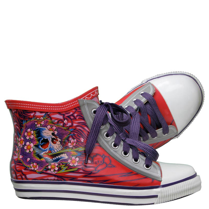 Ed Hardy Harrison Shoe For Women- Fuschia