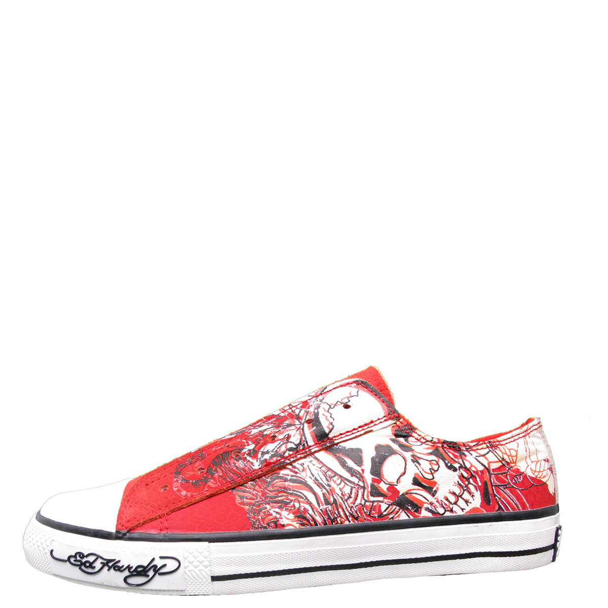 Ed Hardy Lowrise Chicago Shoe for Women - Red