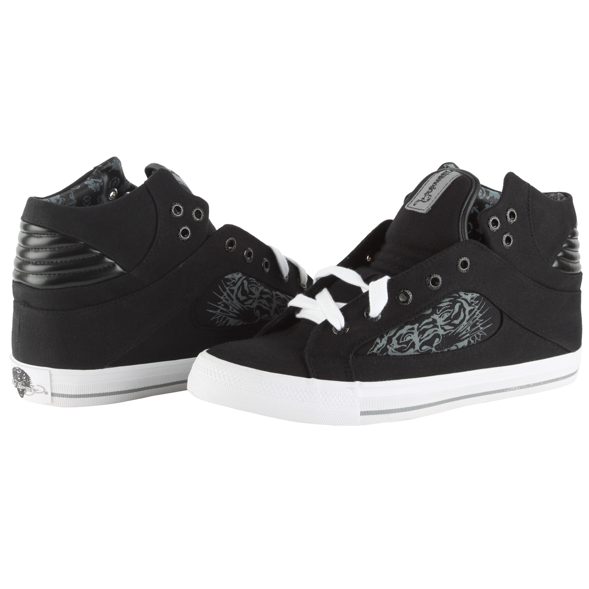 Ed Hardy Pendelton Highrise Shoe for Men - Black