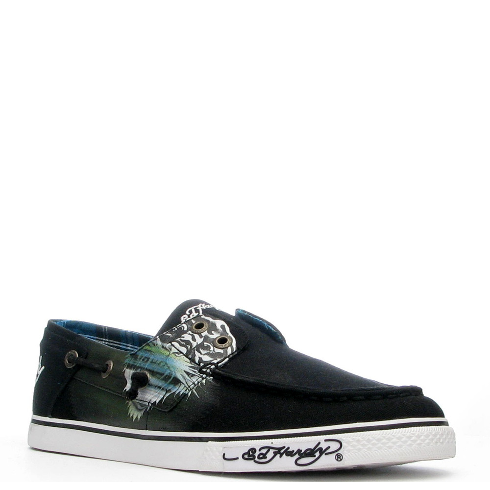 Ed Hardy Atlantic Shoe for Men - Black