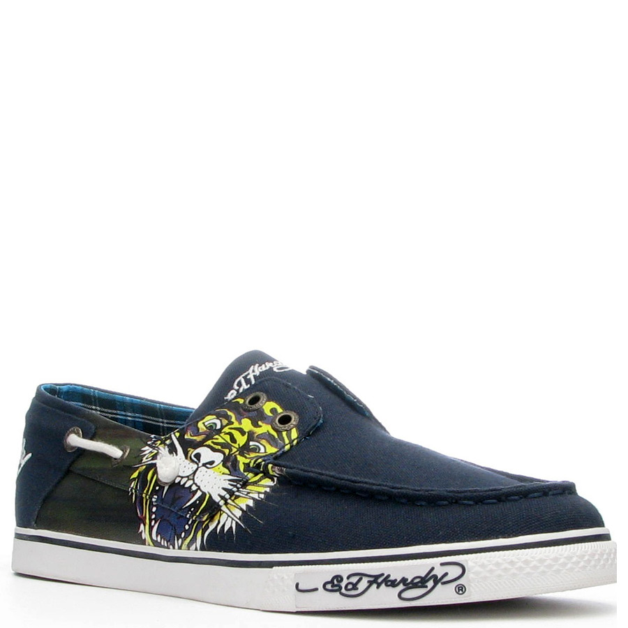 Ed Hardy Atlantic Shoe for Men - Navy