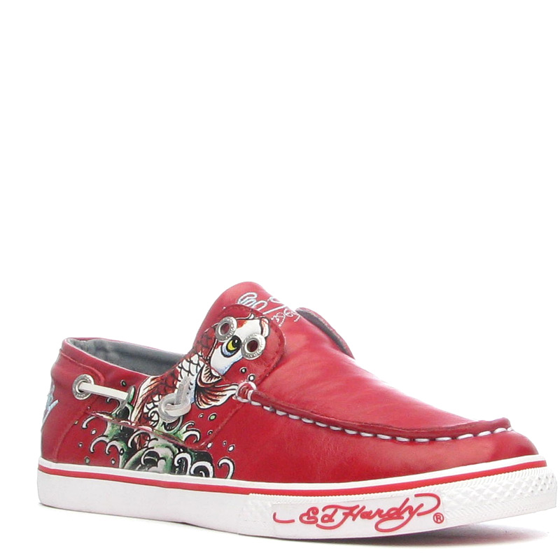 Ed Hardy Dera Shoe for Women - Red