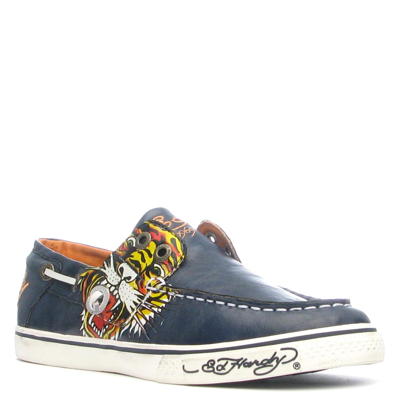 Ed Hardy Dera Shoe for Women - Navy