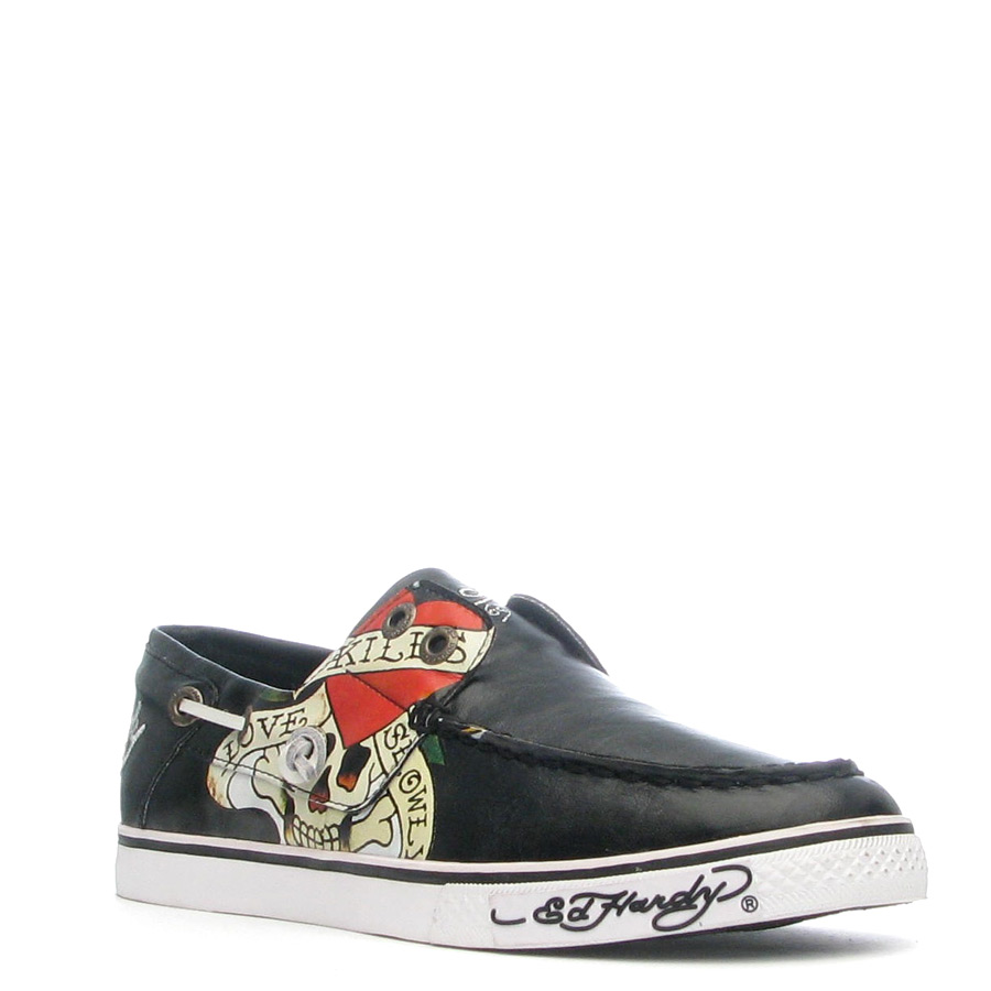 Ed Hardy Dera Shoe for Women - Black