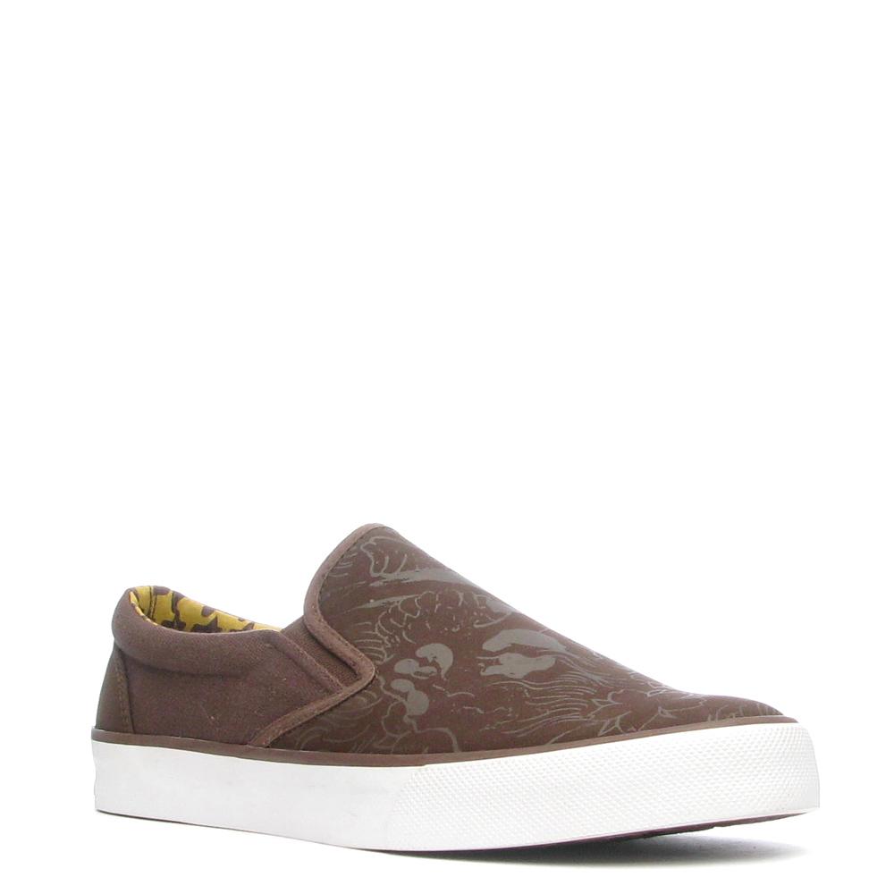 Ed Hardy Decks Shoe for Men - Brown