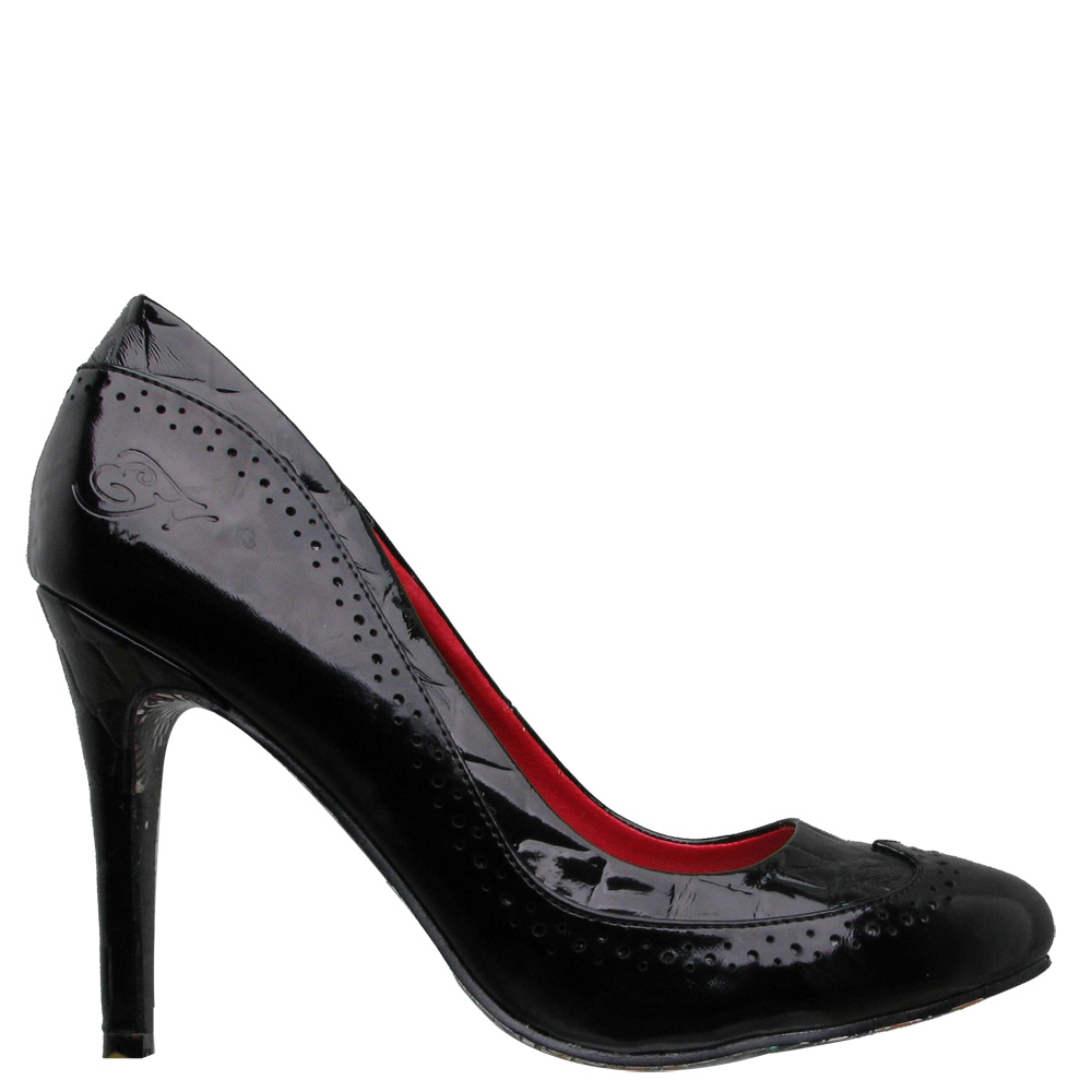 Ed Hardy Holly Heel Shoe for Women - Black