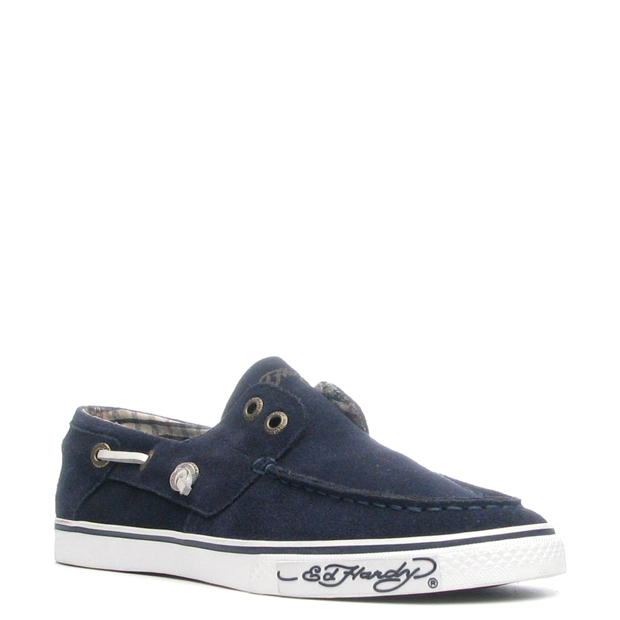 Ed Hardy Nalo Shoe for Men - Navy