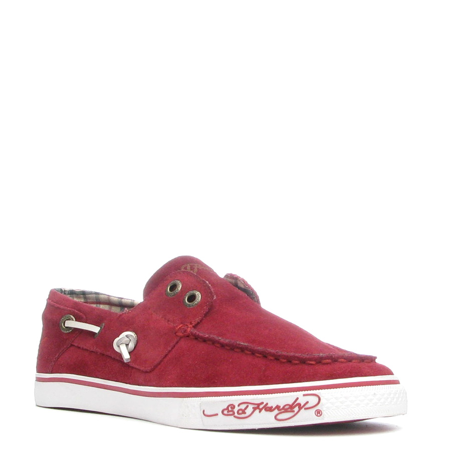 Ed Hardy Nalo Shoe for Women - Burgundy