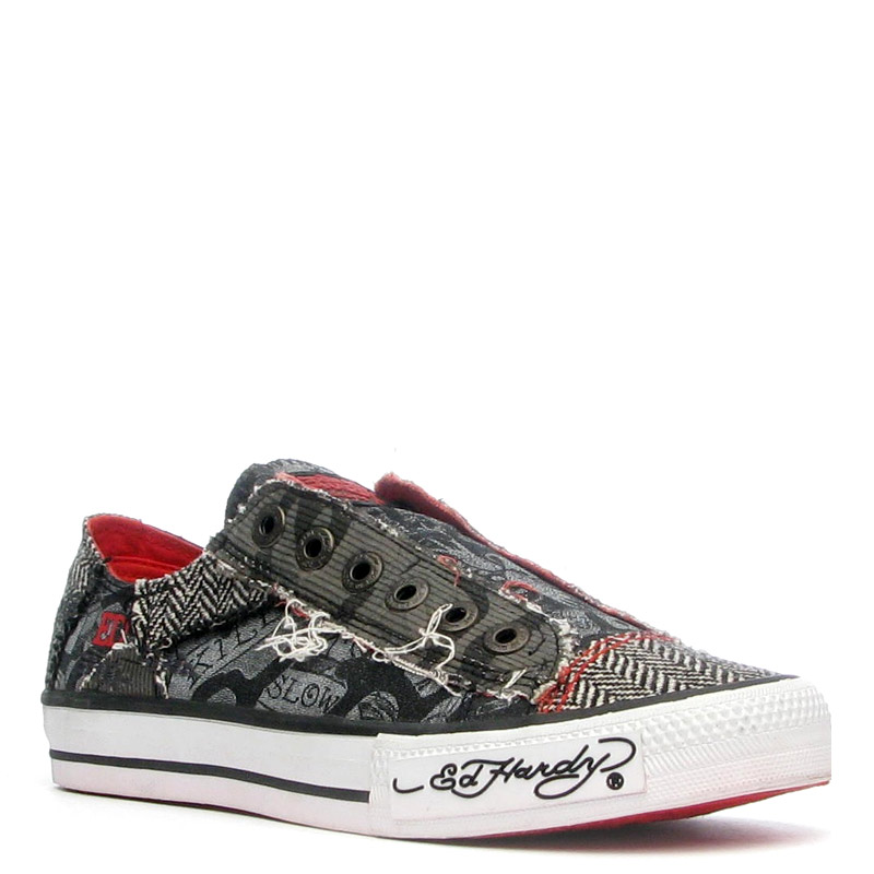 Ed Hardy Lowrise Oakland Shoe for Women -Black