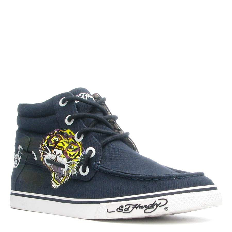 Ed Hardy Pasific Shoe for Men - Navy