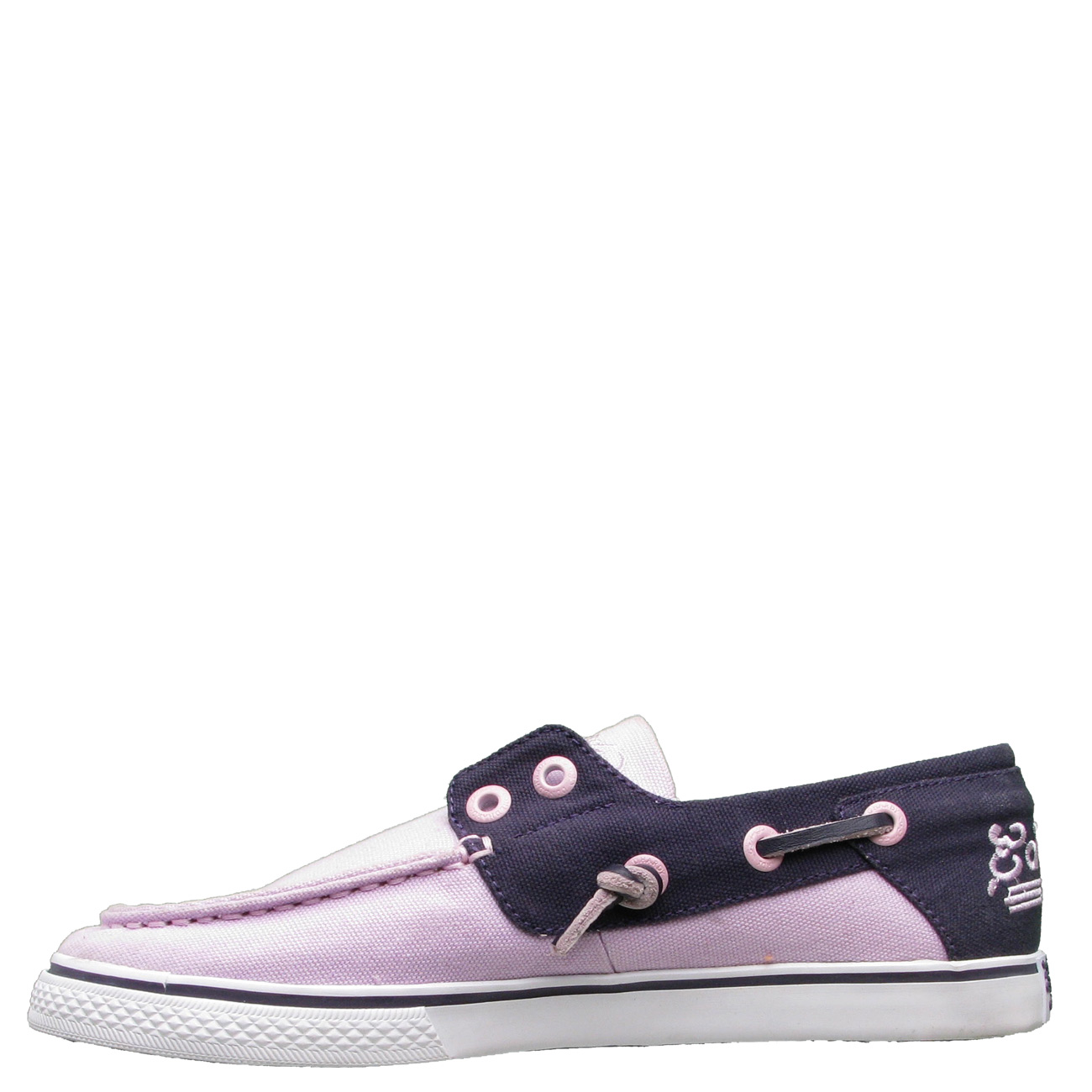 Ed Hardy Del Mar Boat Shoe for Women - Purple