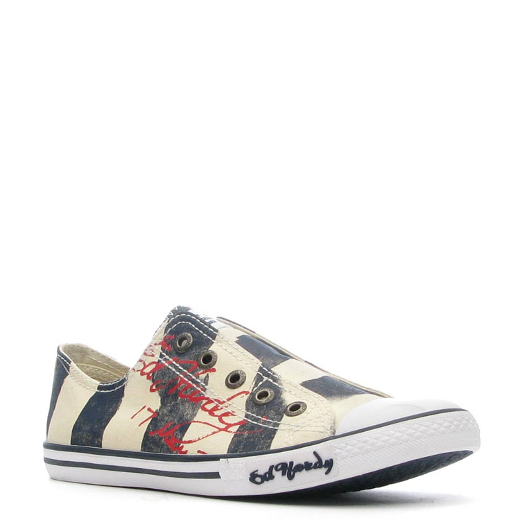 Ed Hardy Bess Lowrise Shoe for Women - Navy