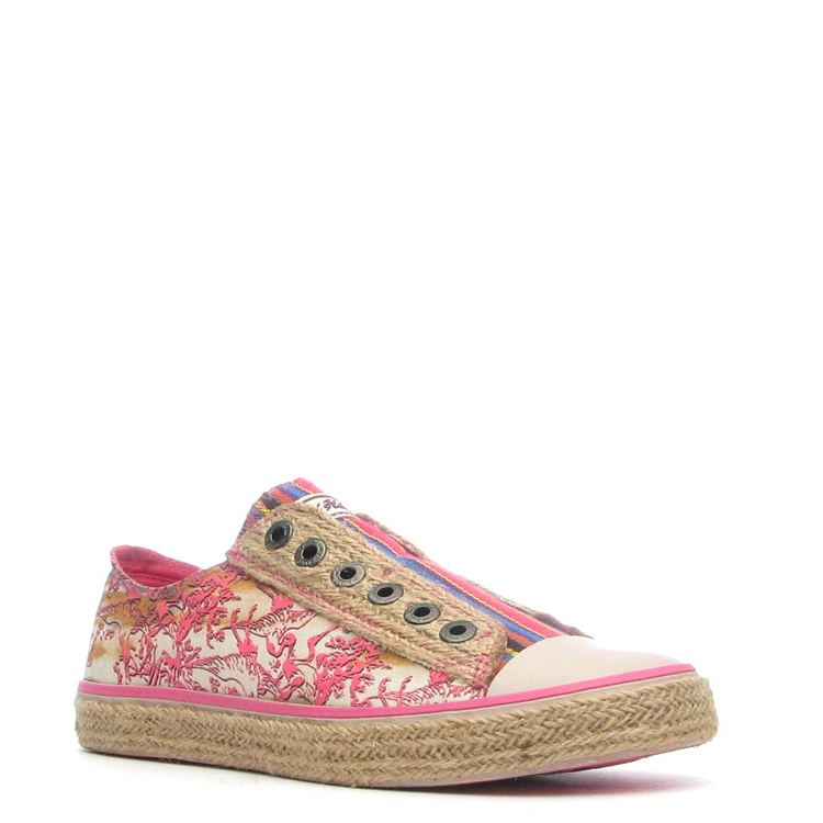 Ed Hardy Drilles Lowrise Shoe for Women - Off White