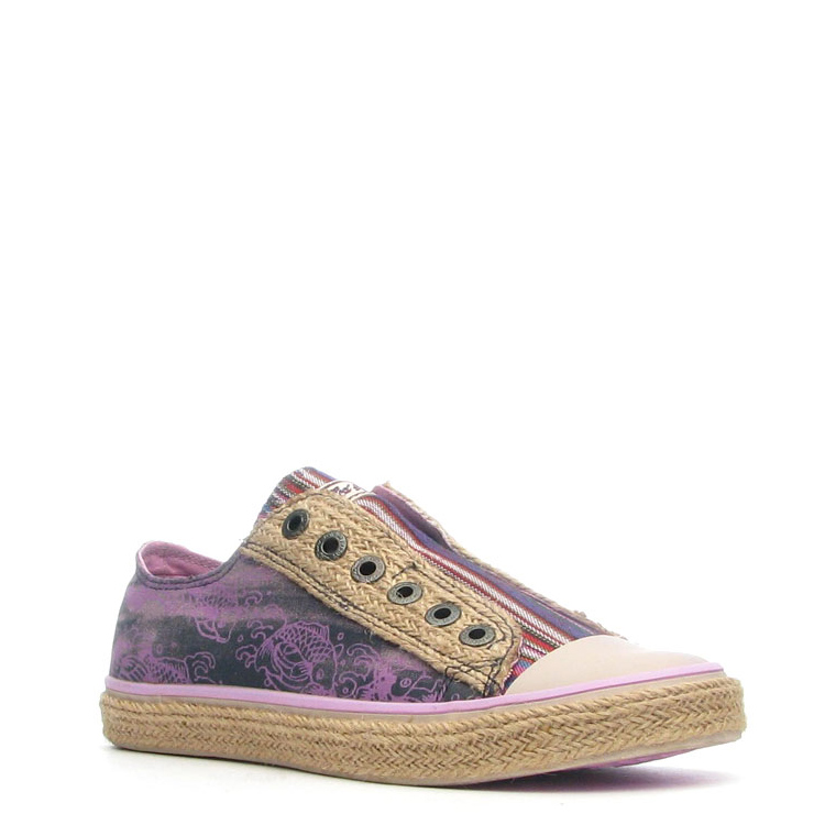 Ed Hardy Drilles Lowrise Shoe for Women - Purple