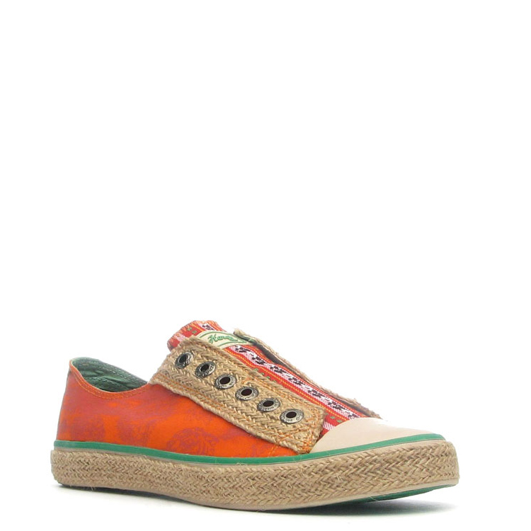 Ed Hardy Drilles Lowrise Shoe for Women - Orange