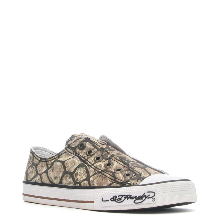 Ed Hardy Wilde Lowrise Shoe for Women - Beige