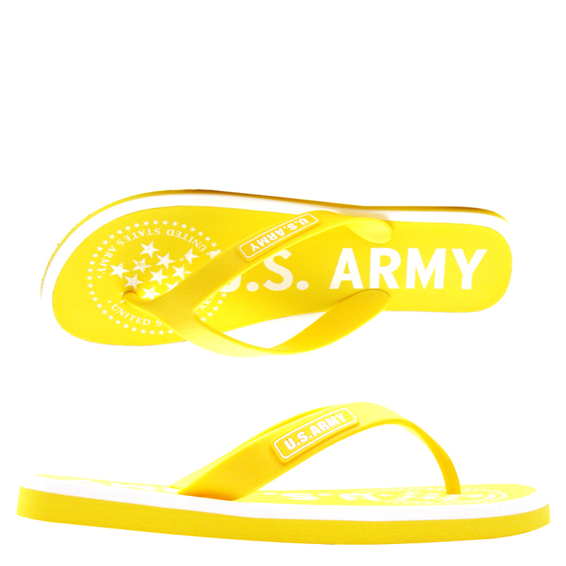 US Army Desert Sand Womens Sandal – Yellow