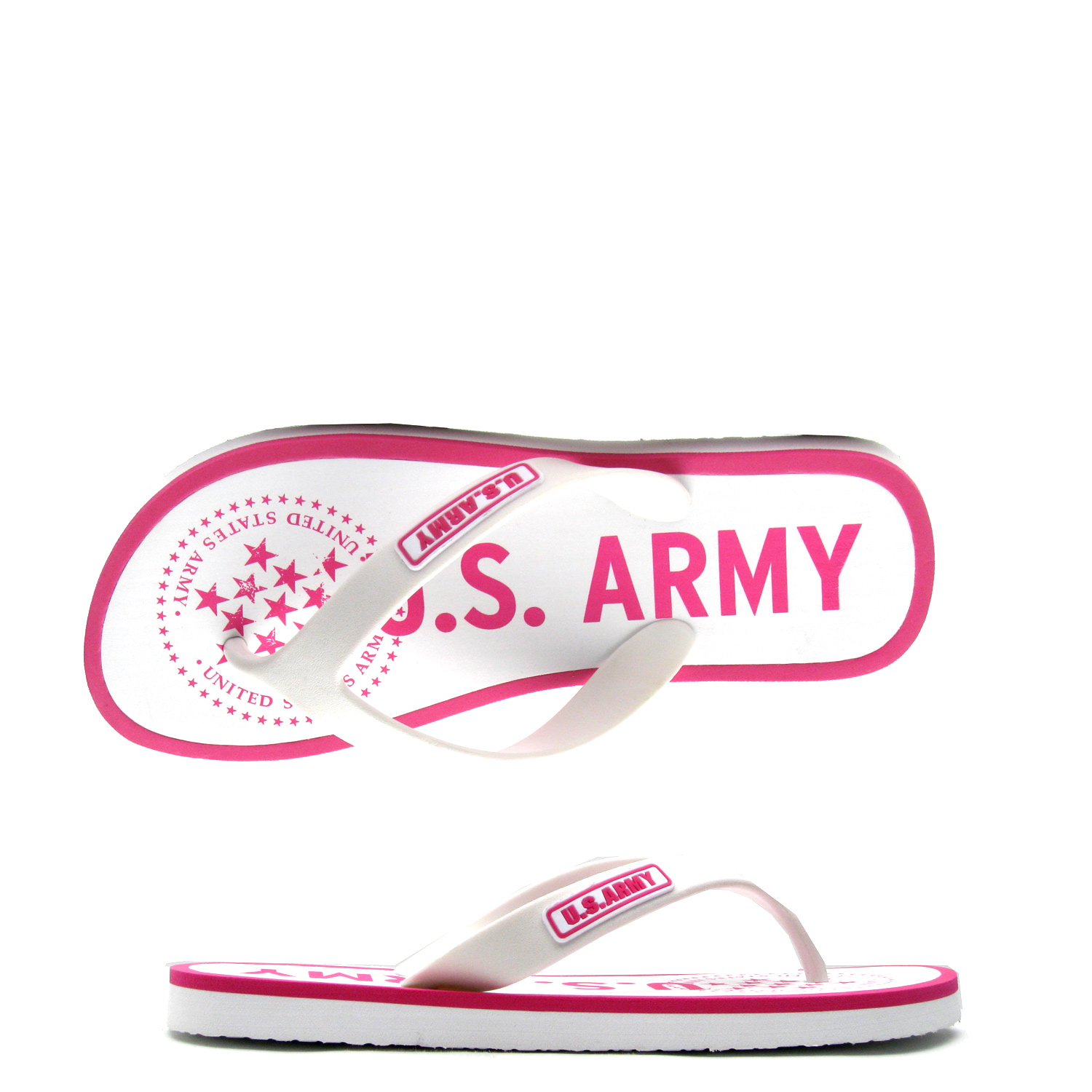 US Army Desert Sand Womens Sandal – White