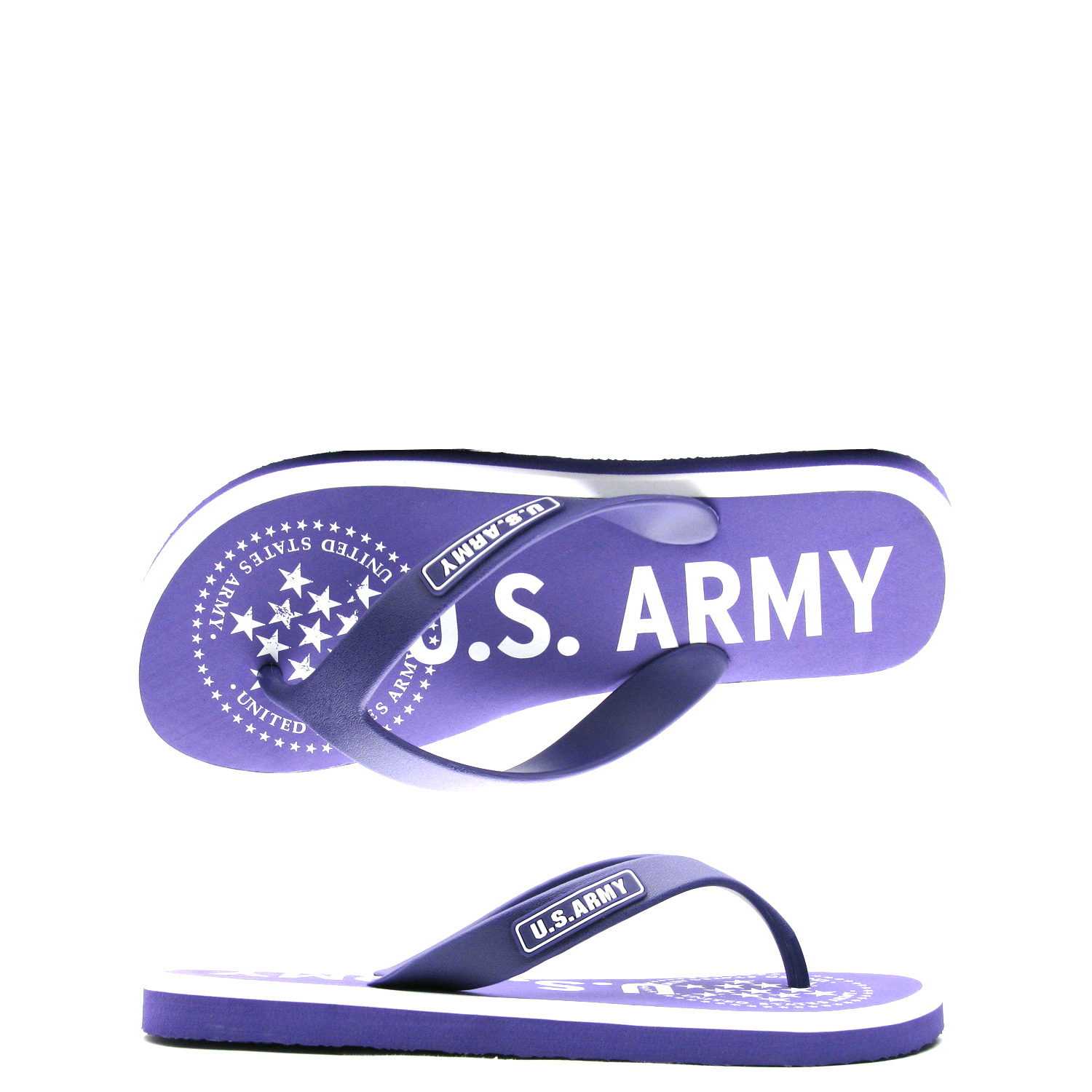 US Army Desert Sand Womens Sandal – Purple