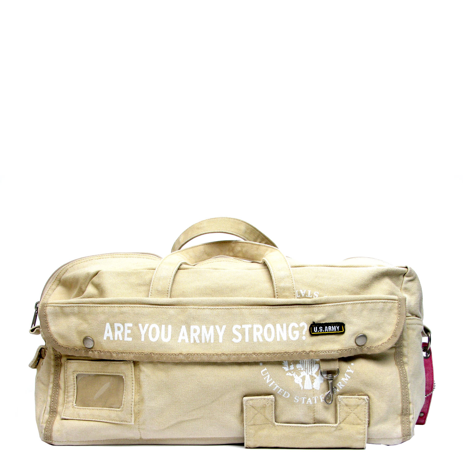 US Army Drum Duffle Bag – Sand