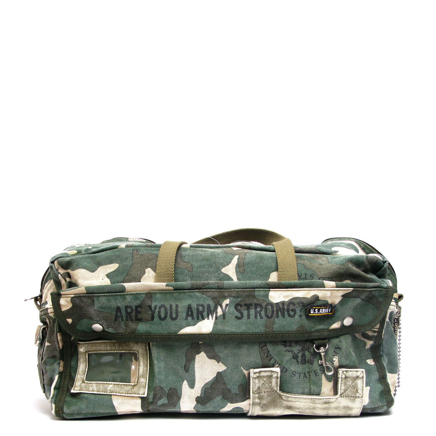 US Army Drum Duffle Bag – Camo