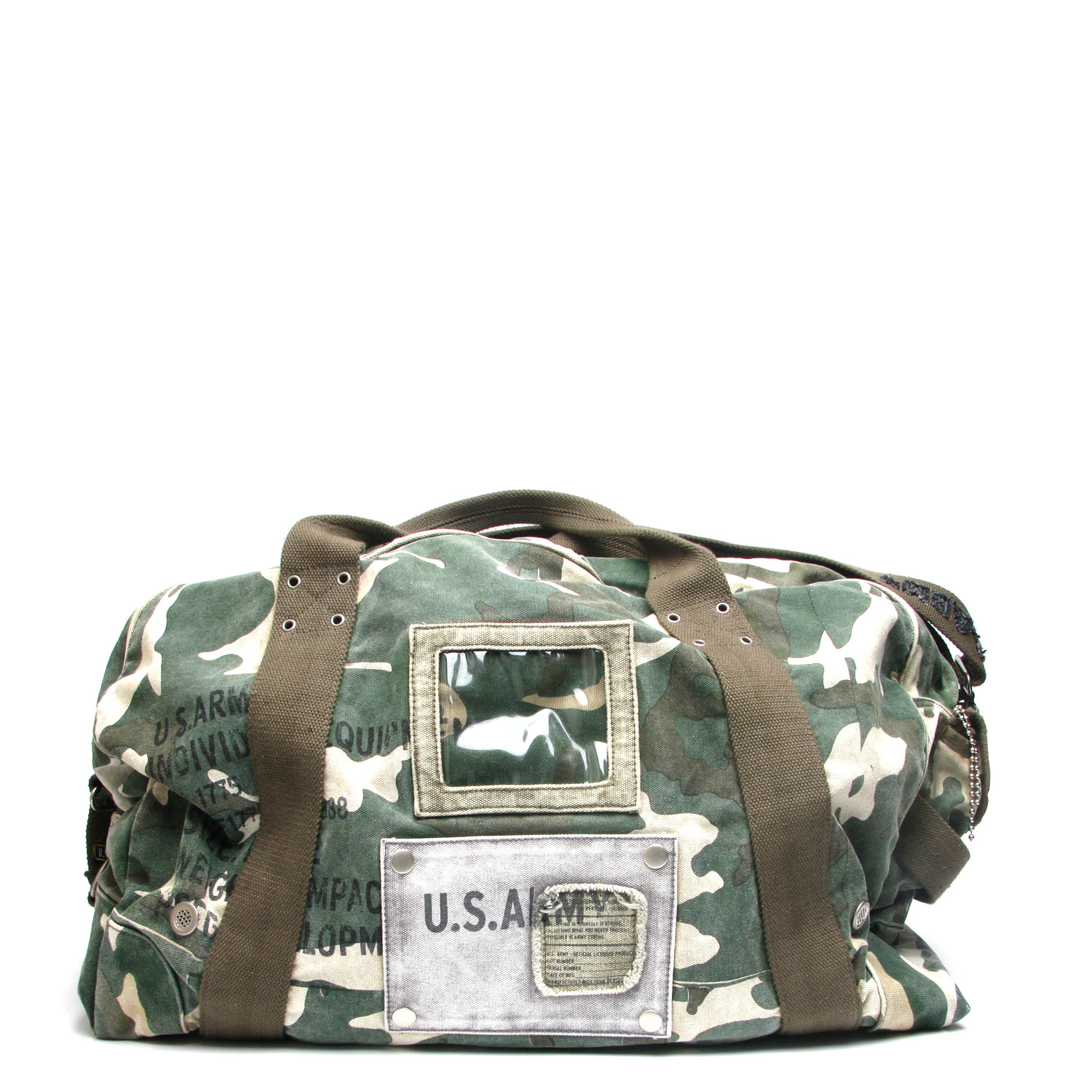 US Army Bragg Duffle Bag – Camo