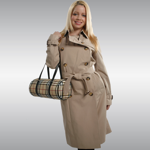 Burberry Belted Trench Coat - Beige