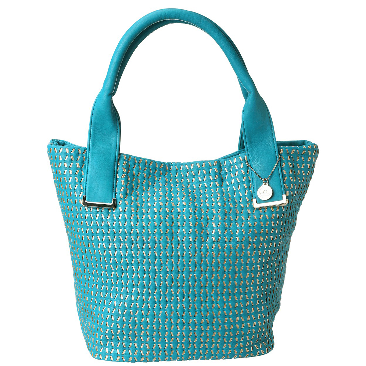 Big Buddha Bentley Tote - Turquoise