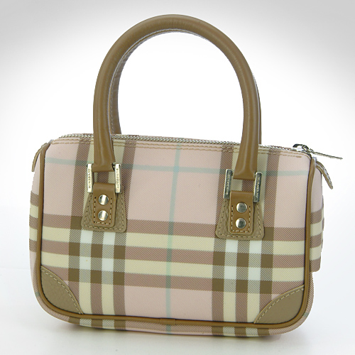 Outlet Special-Burberry Pink Check Mini Bluebell B