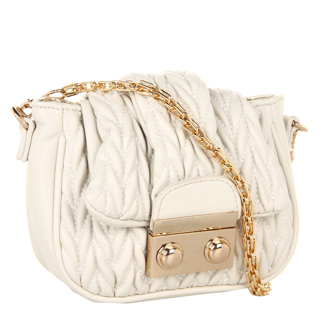 Big Buddha Carini Handbag-Cream