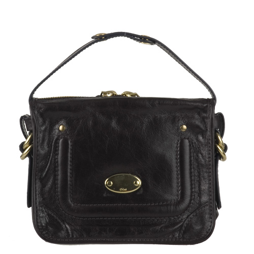 Chloe 7EP104 Leather Pouch - Black