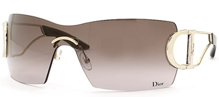 Dior Diorly 2 3YGMH Rimmless Sunglasses - Light Go