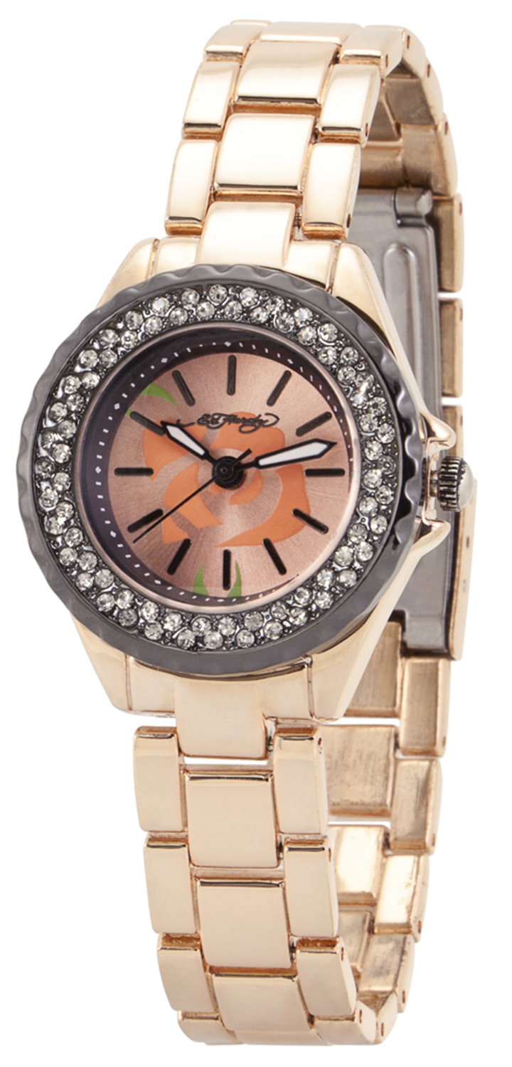 Ed Hardy 1117 Royale Women's Watch-Royal Gold