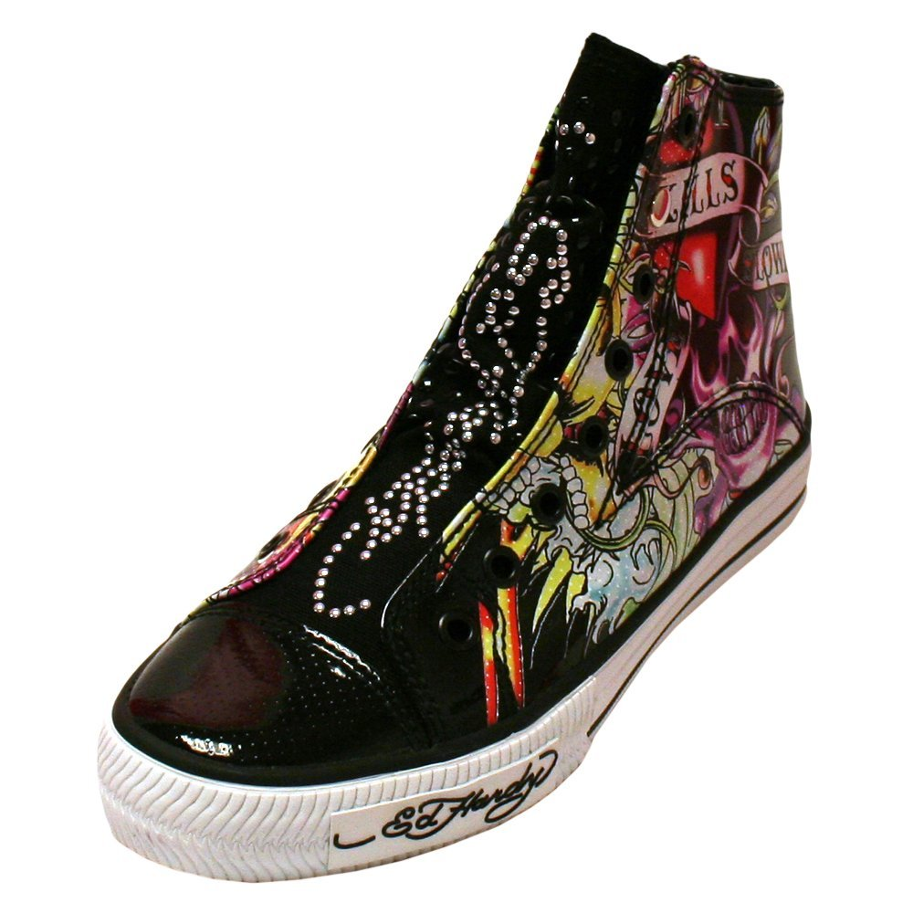 Ed Hardy Babylon Womens Shoe - Black