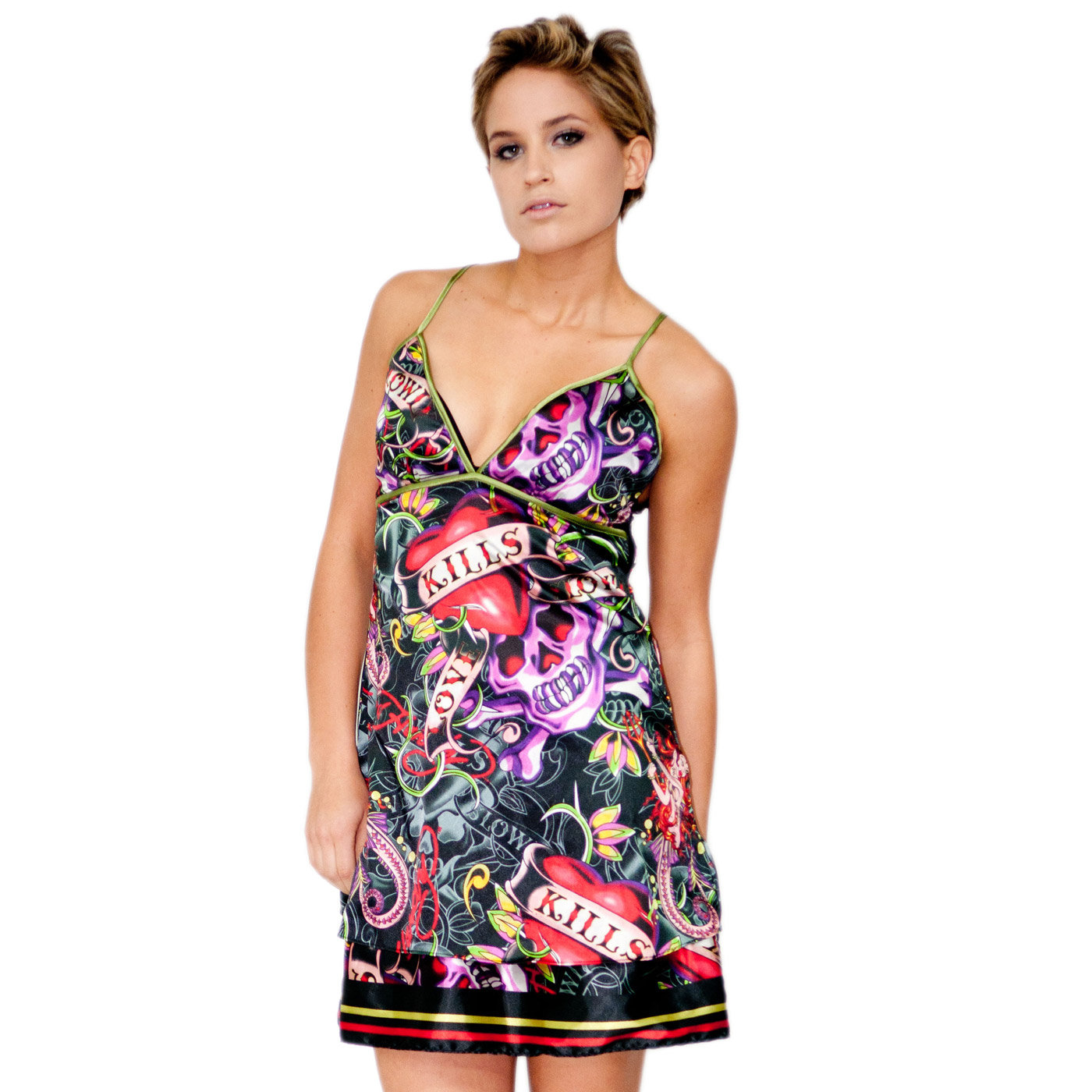 Ed Hardy Womens Valda Dress