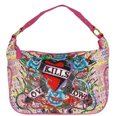 Sailor Jerry TATTOO Purse Tote BAG Carry-All RETRO. From deluxejunque